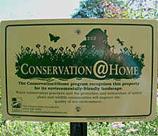 Conservation@Home Sign The Conservation Foundation