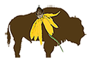 Good-Natured Landscapes bison logo