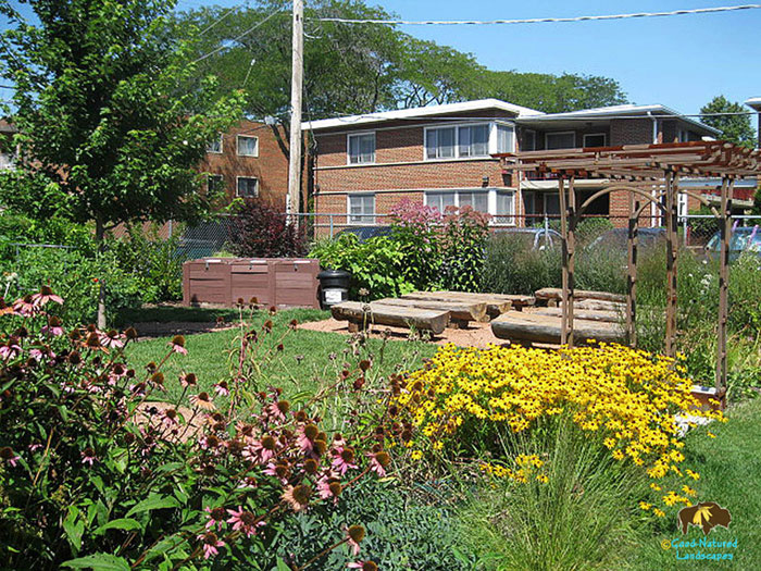 Elmhurst Project : Outdoor Classroom and Chicago Wilderness Native Landscape and Conservation Award winner