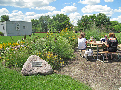 Carol Stream outdoor classrooom stormwater management wildlife habitat photo