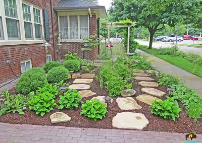 Naperville Project – Rain garden and wildlife habitat